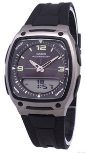 Casio Analog Digital Telememo Illuminator AW-81-1A1VDF AW81-1A1VDF Men's Watch