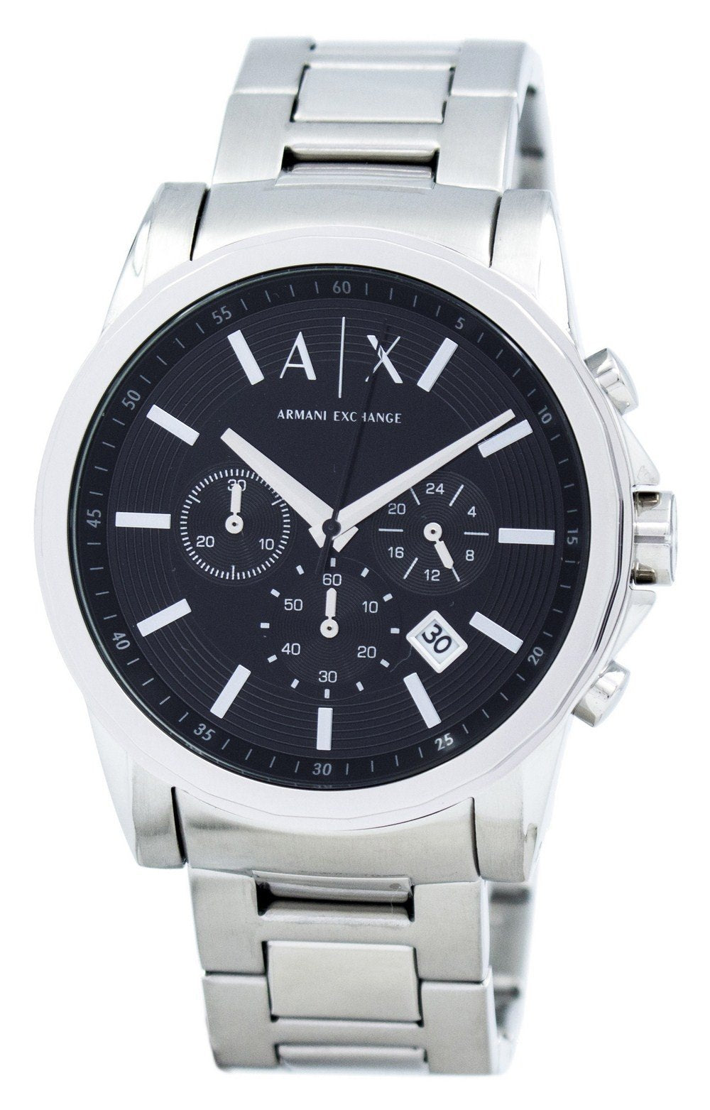 Armani Exchange Chronograph Black Dial AX2084 Men's Watch, best prices, cheapest, discount, new, Cruze Watches