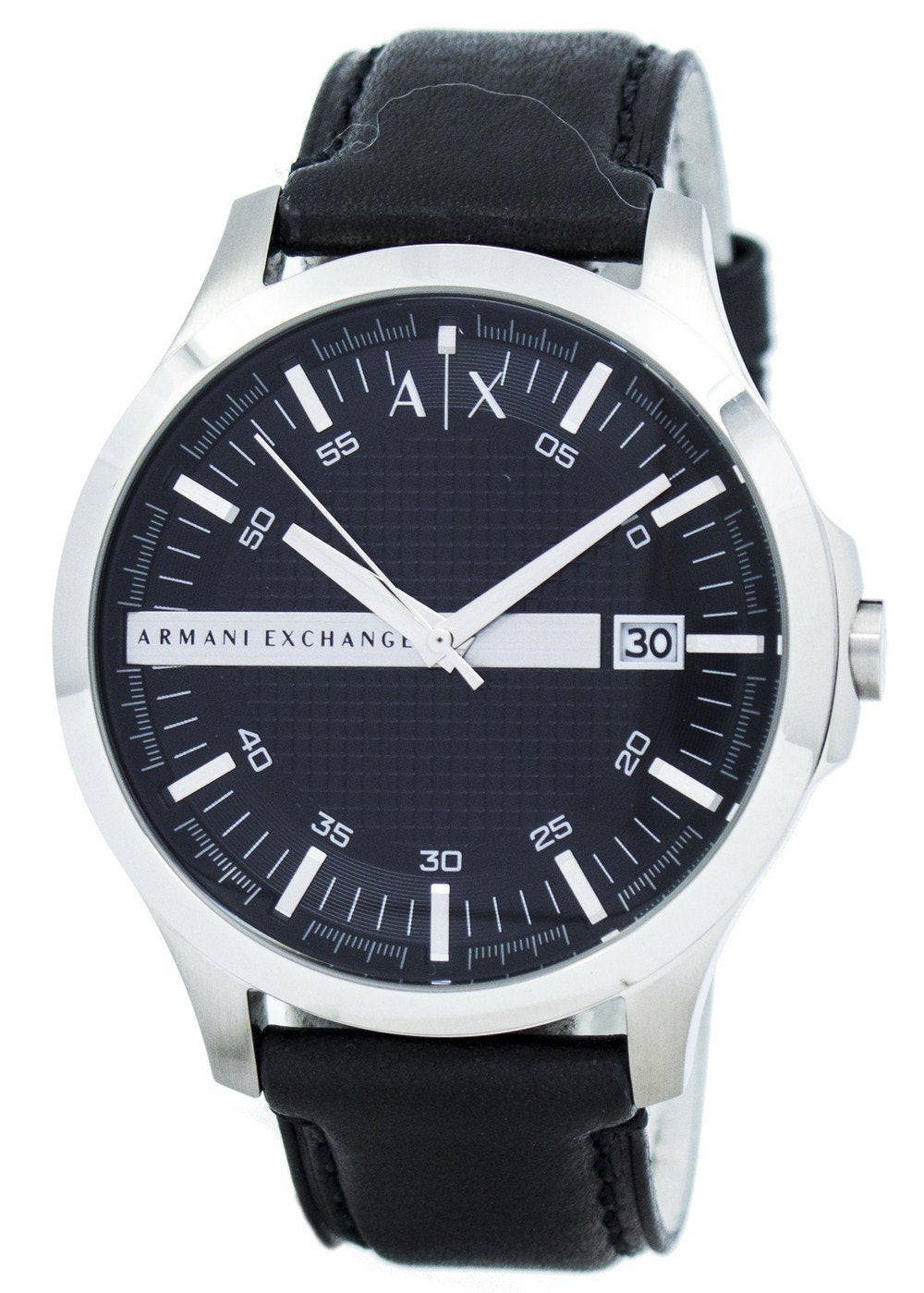 Armani Exchange Black Dial Leather Strap AX2101 Men's Watch, best prices, cheapest, discount, new, Cruze Watches