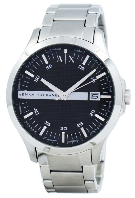 Armani Exchange Black Dial Stainless Steel AX2103 Men's Watch, best prices, cheapest, discount, new, Cruze Watches