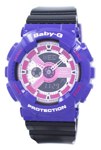 Casio Baby-G World Time Shock Resistant Analog Digital BA-110NC-6A BA110NC-6A Women's Watch