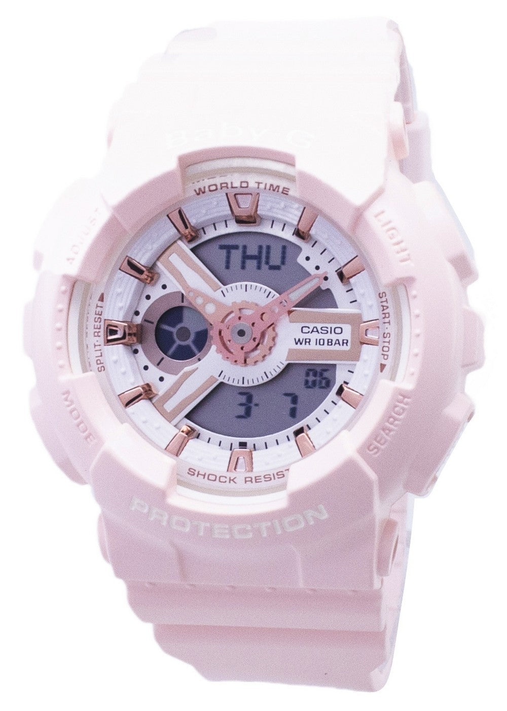 Casio Baby-G BA-110RG-4A BA110RG-4A Analog Digital Women's Watch