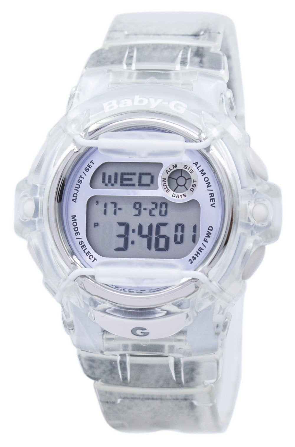 Casio Baby-G Shock Resistant Digital World Time Quartz BG-169R-7E BG169R-7E Women's Watch