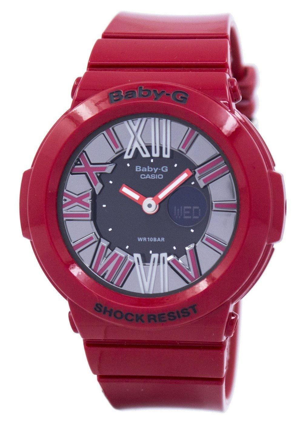 Casio Baby-G Analog-Digital BGA-160-4BDR BGA160-4BDR Women's Watch