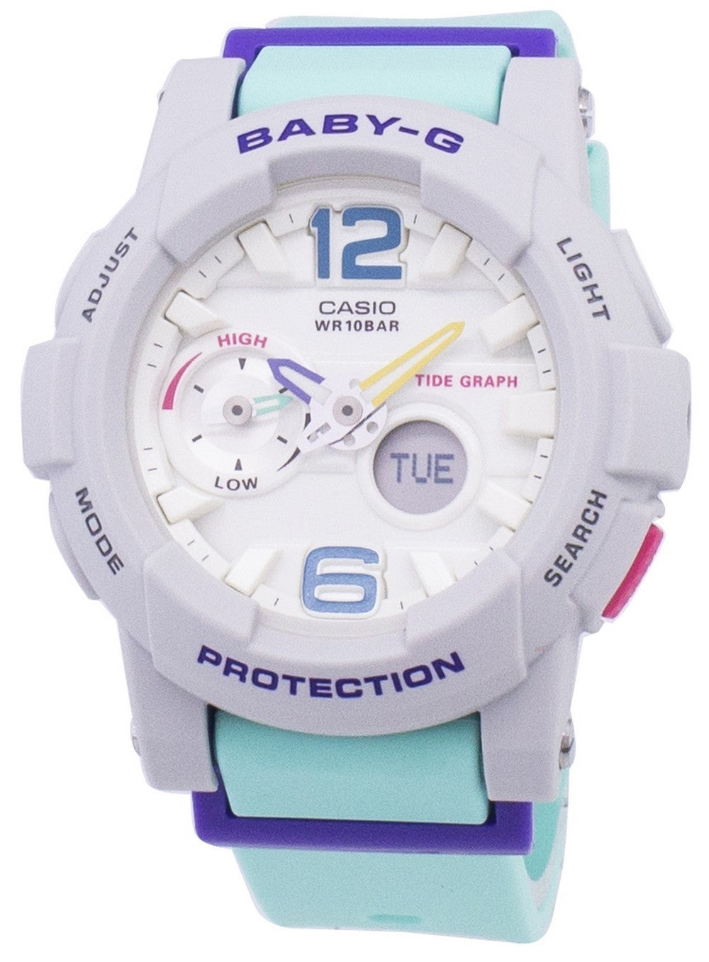Casio Baby-G G-Lide Tide Graph BGA-180-3B BGA180-3B Women's Watch