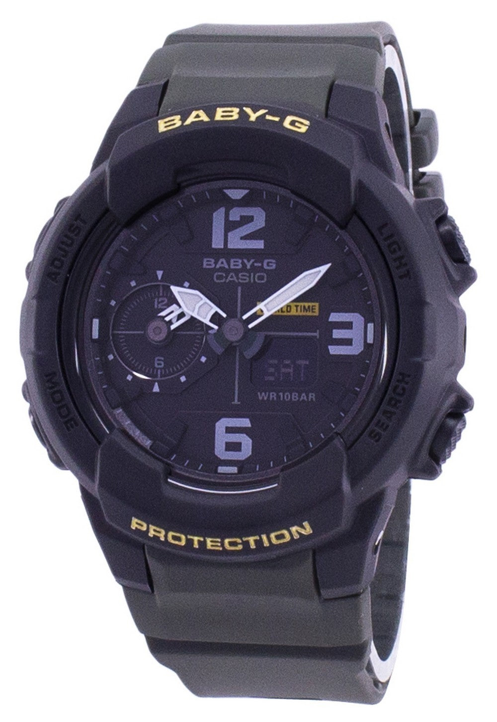 Casio Baby-G Shock Resistant World Time Analog Digital BGA-230-3B BGA230-3B Unisex Watch