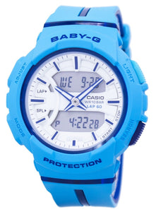 Casio Baby-G Shock Resistant Dual Time Analog Digital BGA-240L-2A2 Women's Watch