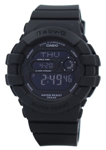 Casio Baby-G Dual Illuminator World Time Digital BGD-140-1A BGD140-1A Women's Watch