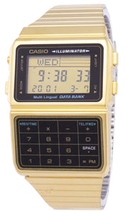 Casio Digital Stainless Steel Data Bank Multi-Lingual DBC-611G-1DF DBC611G-1DF Men's Watch