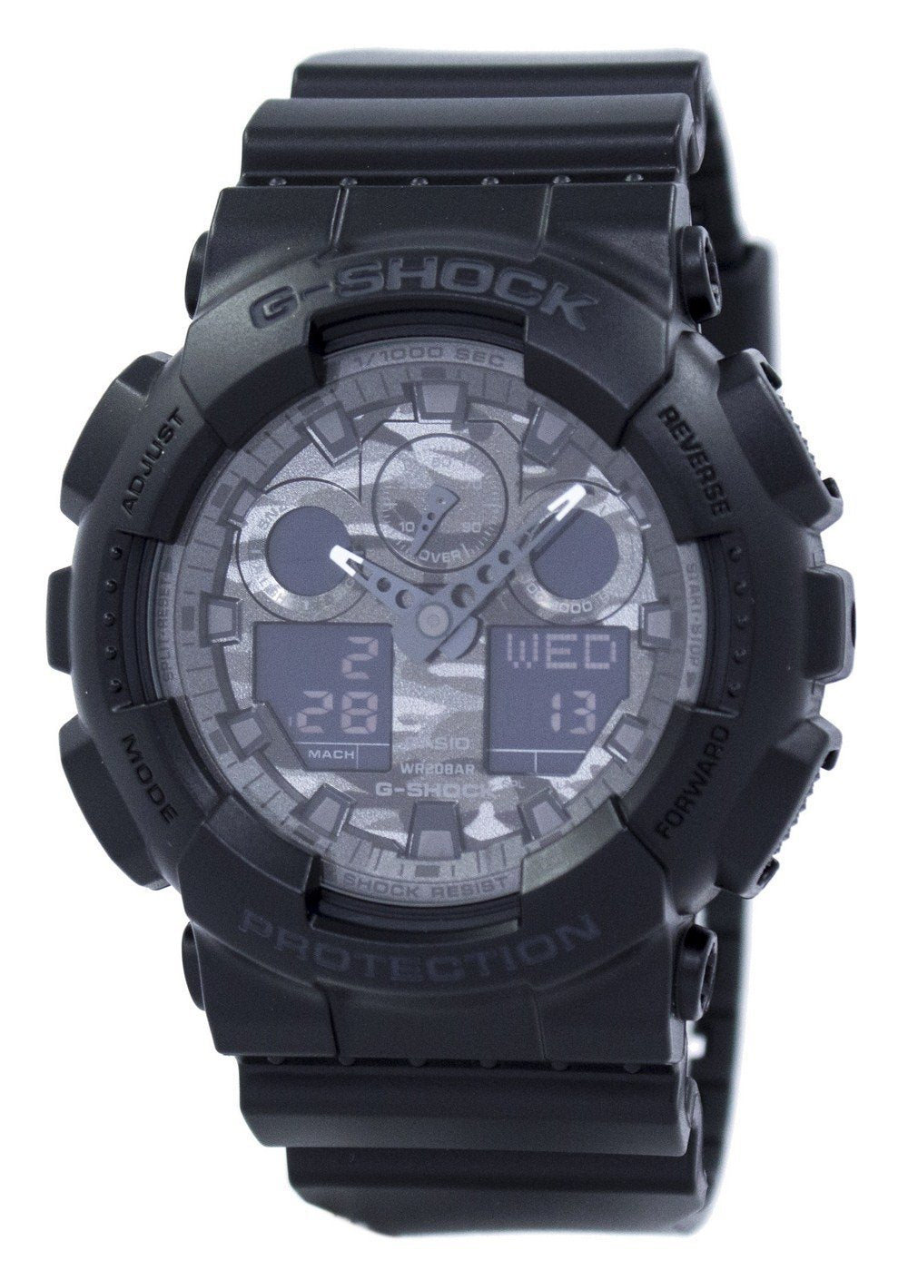 Casio Camouflage Series Analog Digital GA-100CF-1A GA100CF-1A Men's Watch