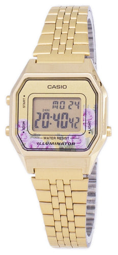 Casio Vintage Illuminator Quartz Digital LA680WGA-4C Women's Watch