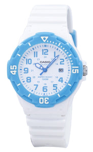 Casio Analog White Dial LRW-200H-2BVDF LRW200H-2BVDF Women's Watch