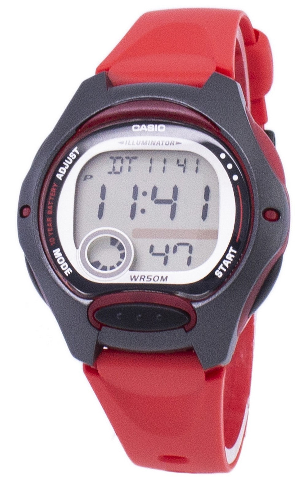 Casio Digital Sports Illuminator LW-200-4AVDF Women's Watch