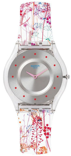Swatch Skins Classic Jardin Fleuri Quartz SFE102 Women's Watch