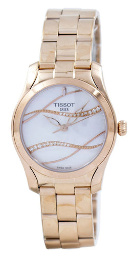 Tissot T-Lady T-Wave Quartz Diamond Accent T112.210.33.111.00 T1122103311100 Women's Watch