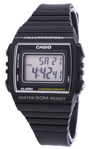 Casio Digital Alarm Chronograph W-215H-1AVDF W-215H-1AV Unisex Watch