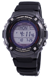 Casio Digital Tough Solar 5 Alarms Illuminator W-S200H-1BVDF WS200H-1BVDF Men's Watch