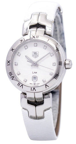 Tag Heuer Link Bracelet Diamond Dial WAT1411.FC6316 Women's Watch