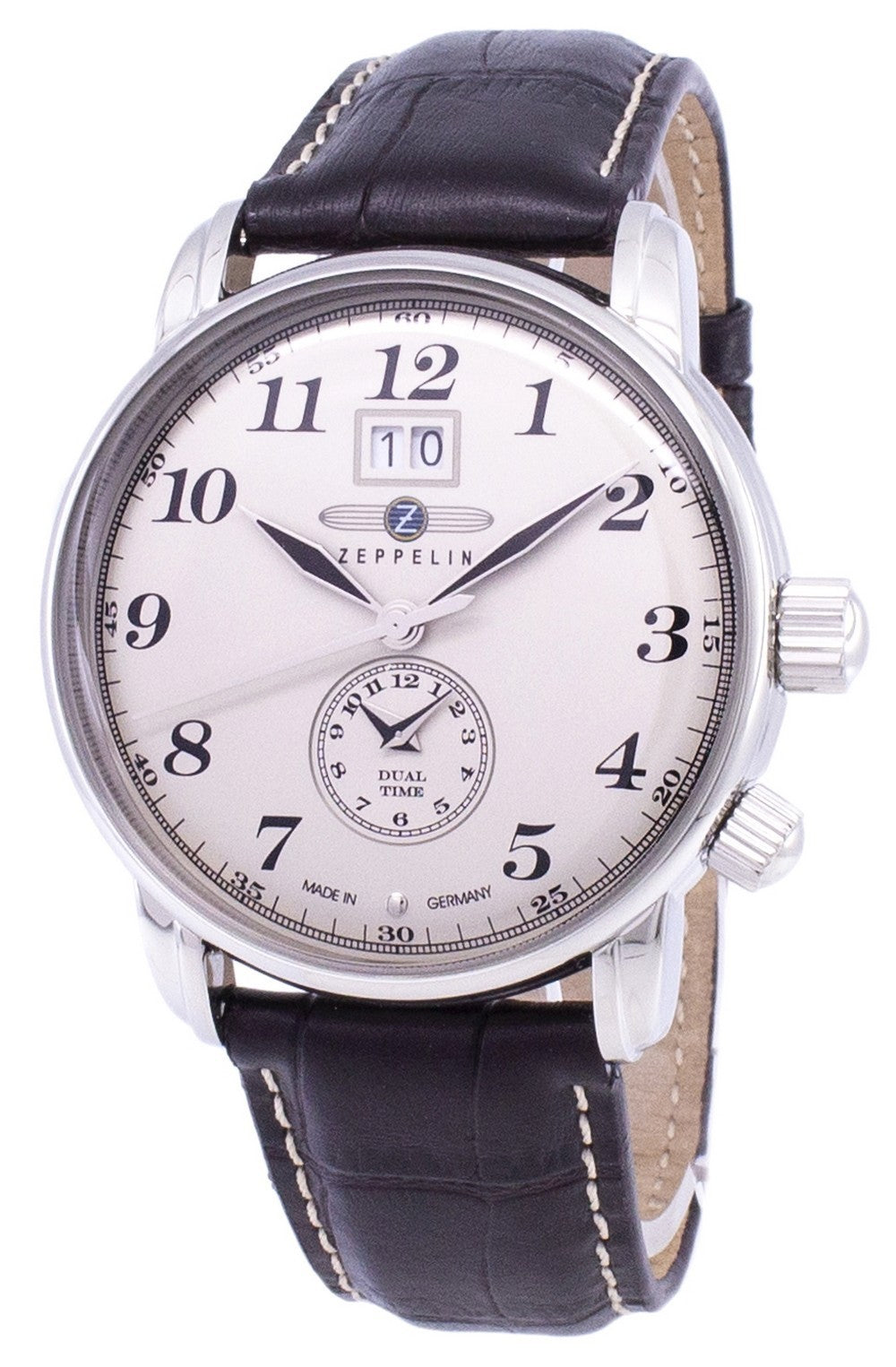Zeppelin Series LZ127 Graf Germany Made 7644-5 76445 Men's Watch