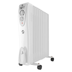 3KW Portable Electric Oil Filled Radiator 11 Fin Heater