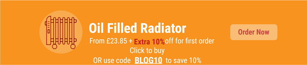 10% for Oil filled radiators