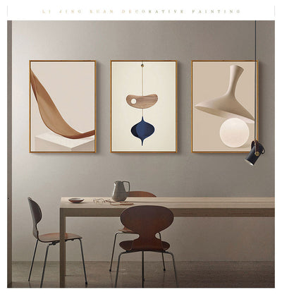 Nordic Modern Abstract Style Abstract Geometry Series Bedroom Living Room Office Mural