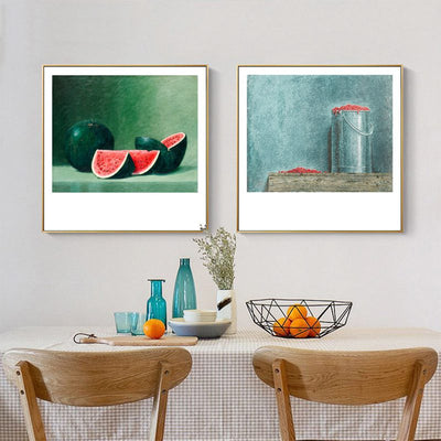 Light of Food-Potato Framed Printings Fruit Realistic Farm Country Bedroom Corridor Bedside Modern Wall Hanging Art