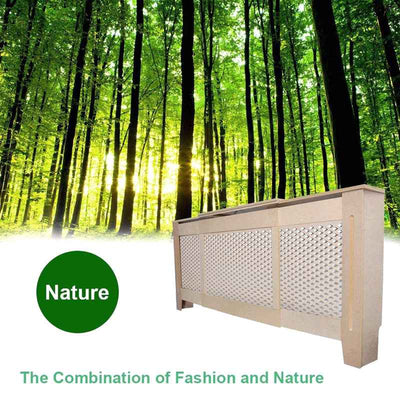 Extra Large Radiator Cover Shelf Cabinet