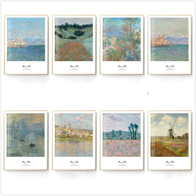 Monet Style-Argenteuil 30*40cm Famous Painting Oil Painting Abstract Landscape Character Bedroom Wall Hanging Art Mural