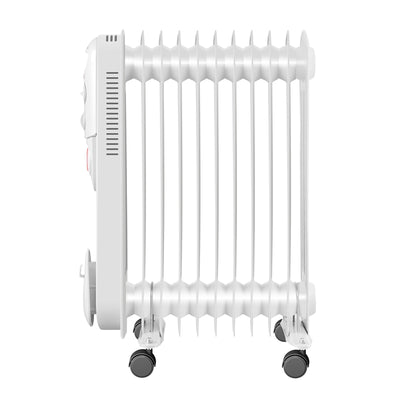 3KW Electric Oil Filled Radiator With 24/7 Timer Thermostat
