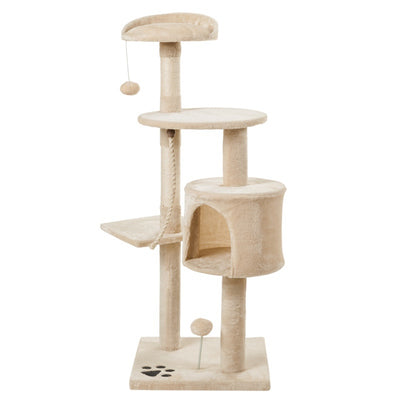 3 Tier Kitten Cat Tree with Scratching Climbing Tower Scratcher