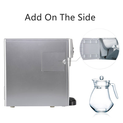 3 in 1 Portable Multi-Function Ice Cube Maker Cold Water Dispenser Machine Home Office Travel