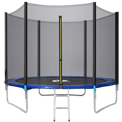 Large Outdoor Trampoline with Safety Net Kids Fitness 6FT 8FT 10FT