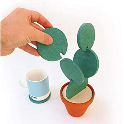 Creative DIY Cactus Non-slip Insulation Environmental Protection Cup Mat