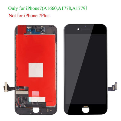 Replacement Compatible for iPhone 7 Screen Replacement Black LCD Display