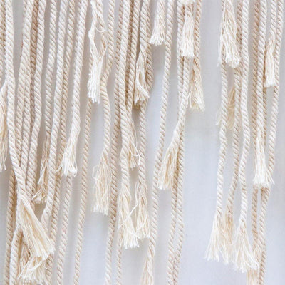 100*115cm Boho Wedding Macrame Wall Hanging for Decoration Hand-Woven Backdrop Large Tapestry Woven Tapestry 39x45inch