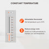 1.2KW Slim Digital Panel Heater Remote Control With Timer