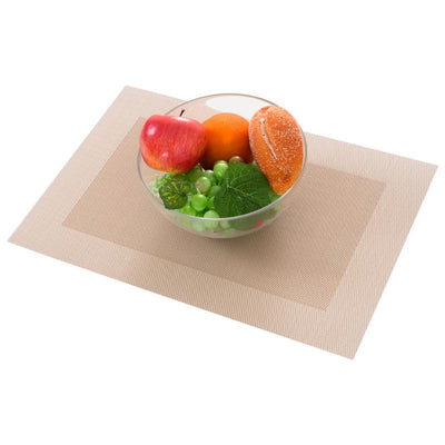 Design Woven Vinyl Placemat Machine Washable