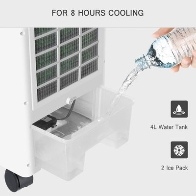 Portable Multi-Function Air Cooler Fan Purifier/ Humidifier