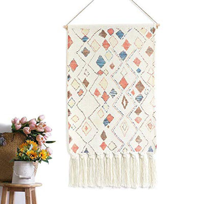 50x70cm Wall Hanging Tapestry Decorative Tassels Hanging for Bedroom Living Room