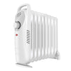 1.5KW 7/9 Fin Portable Electric Oil Filled Radiator with Thermostat