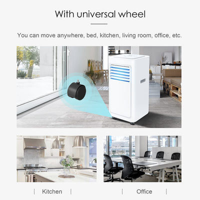 Portable Remote Control Air Conditioner With Timer 7000 9000 Btu