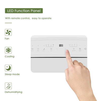 Large Portable Remoted Control Air Conditioner With Timer 12000 14000 16000 BTU