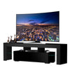 160cm 63 inch LED Remote Control TV Cabinet 16 Colors