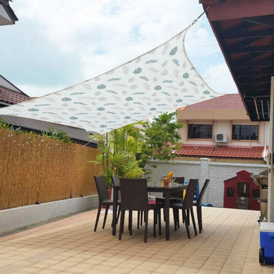 2×3m Four Corners Shade Sail Garden Swimming Pool Courtyard Outdoor Awning Rainproof