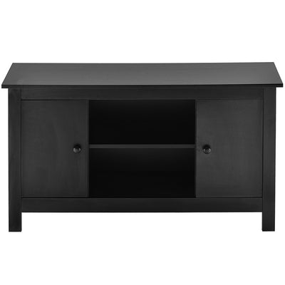 Modern TV Stand 2 Doors Storage TV Unit Large Cabinet Table 110cm