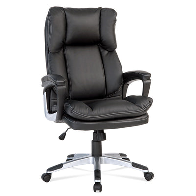 Luxury Soft High-Back PC Chair PU Leather Computer Office Executive Desk Chair