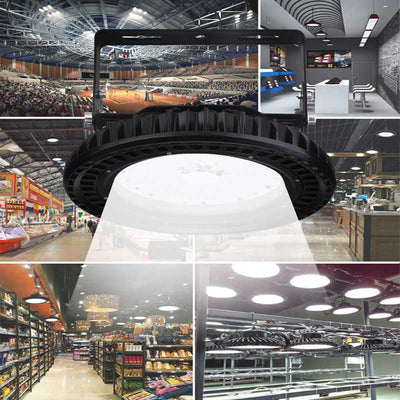 Ultra-Thin High Bay Light Flying Saucer 100W 200W