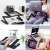 "Adjustable Folding Laptop Stand For 10-16"" Screen"