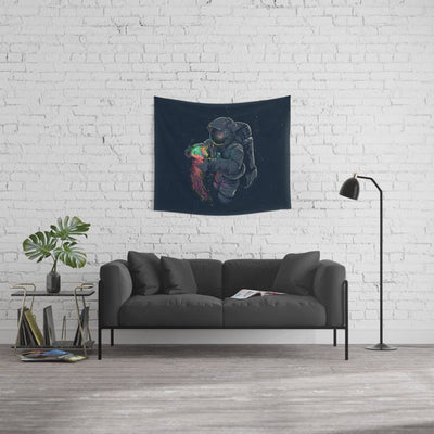 Space Astronaut Wall Tapestries Men Jellyspace Wall Hanging Home Decoration for Bedroom Living Room